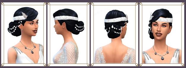 Sims 4 Wedding Braids & Vintage Wedding Bun at Birksches Sims Blog