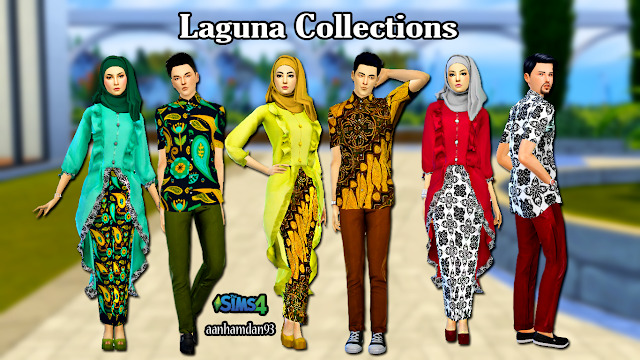 Hijab Model053 & Laguna Collections at Aan Hamdan Simmer93 image 1896 Sims 4 Updates