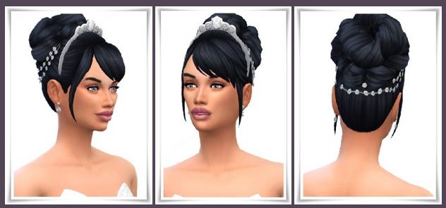 Sims 4 6 Wedding Hairstyles at Birksches Sims Blog