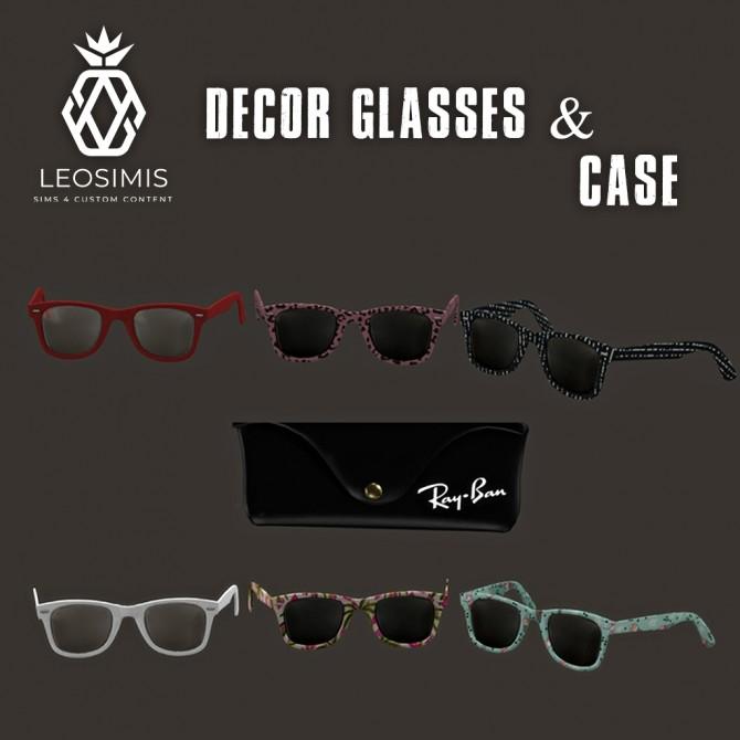 Decor Glasses at Leo Sims image 2041 670x670 Sims 4 Updates