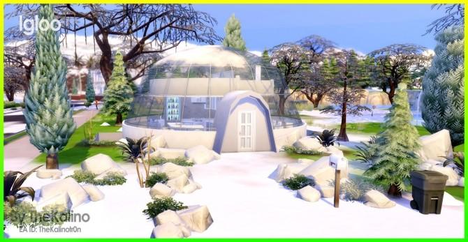 Igloo at Kalino image 2042 670x347 Sims 4 Updates