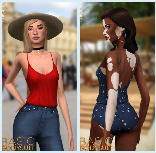 Sims 4 Basic bodysuit at Candy Sims 4