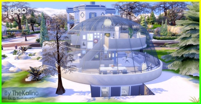 Igloo at Kalino image 2071 670x347 Sims 4 Updates