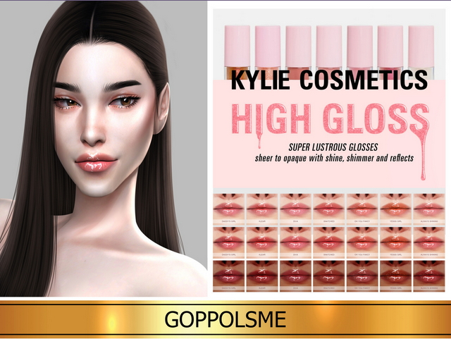 Sims 4 GPME GOLD HIGH GLOSS at GOPPOLS Me