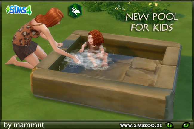 Sims 4 Pool for kids by mammut at Blacky's Sims Zoo