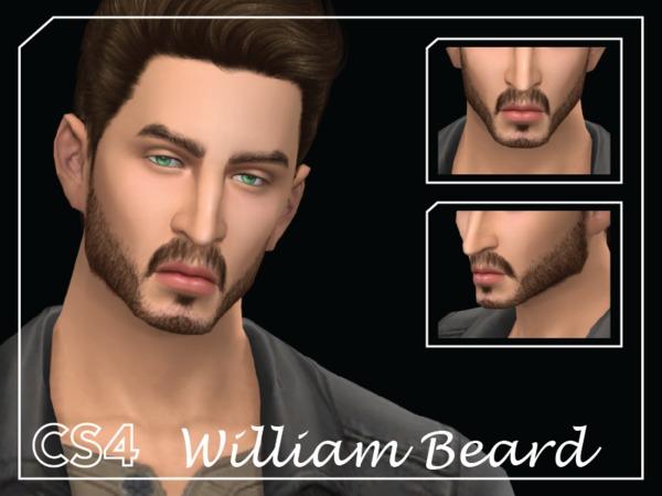 Sims 4 William Beard by Choi Sims 4 at TSR