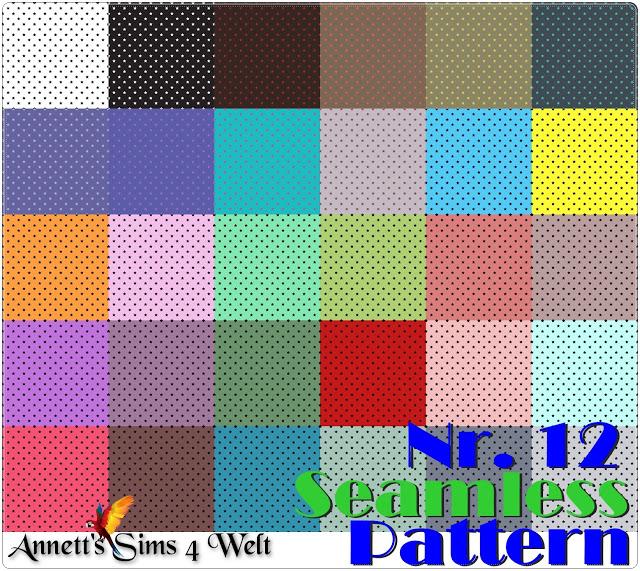 Sims 4 Seamless Pattern Nr. 12 Stars at Annett's Sims 4 Welt