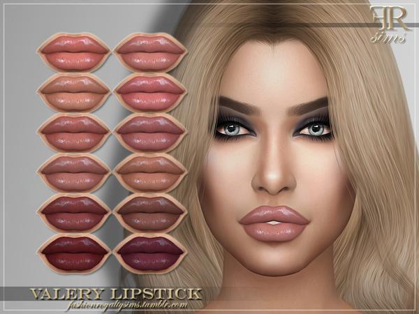 Sims 4 FRS Valery Lipstick by FashionRoyaltySims at TSR