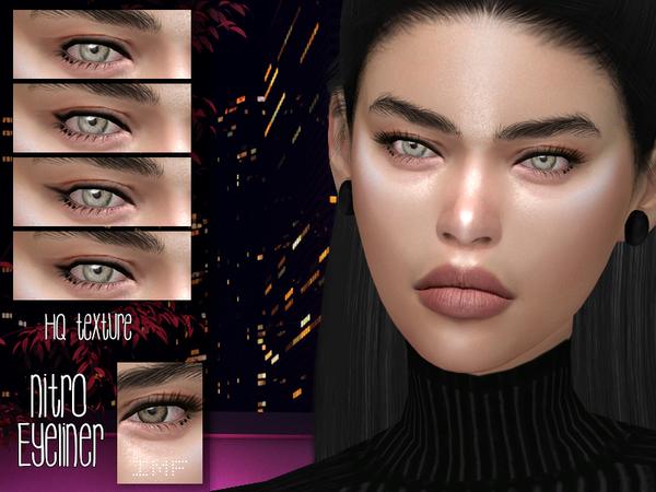 Sims 4 IMF Nitro Eyeliner N.23 by IzzieMcFire at TSR
