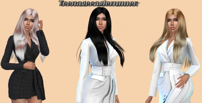 Wings hair OE0916 Recolor at Teenageeaglerunner image 2242 670x344 Sims 4 Updates