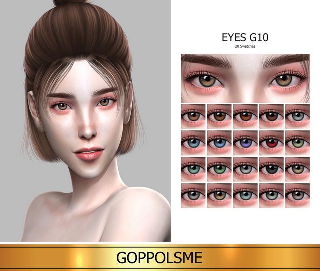 Sims 4 GPME GOLD Eyes G10 (P) at GOPPOLS Me