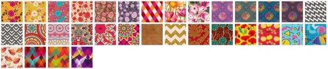 Ruffle mini dress recolors at Heartfall image 2261 670x142 Sims 4 Updates
