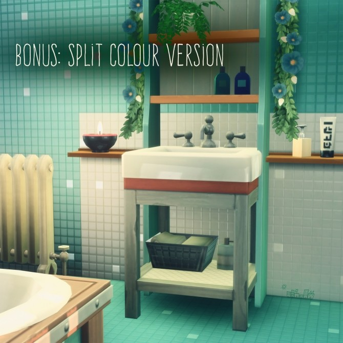 Sims 4 SPARKLING SPECKLED TILE SET at Picture Amoebae