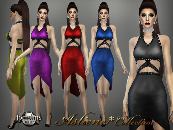 Asliene dress 4 by jomsims at TSR image 2316 Sims 4 Updates