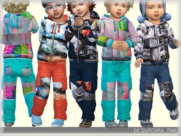 Sims 4 Toddler Pants m by bukovka at TSR
