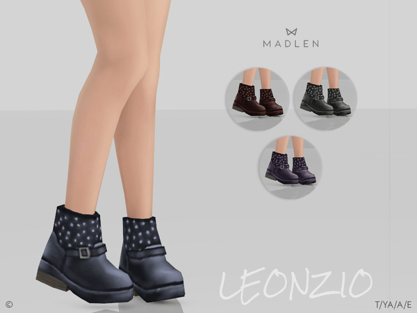 Madlen Leonzio Boots by MJ95 at TSR image 2328 Sims 4 Updates