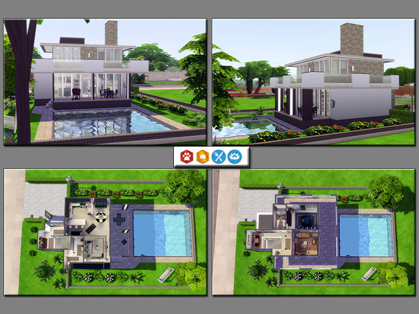 Sims 4 MB Detached Building by matomibotaki at TSR
