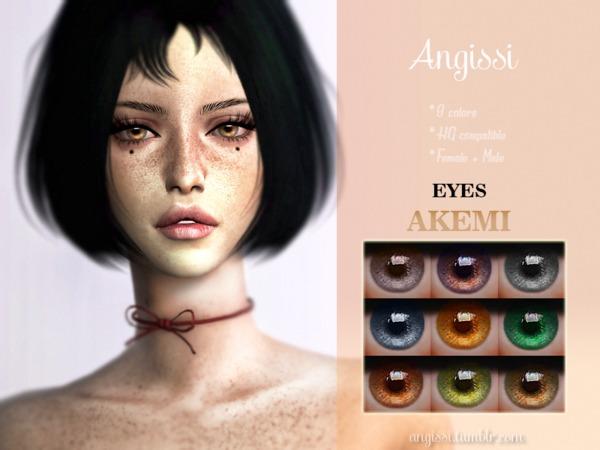 AKEMI EYES by ANGISSI at TSR image 253 Sims 4 Updates
