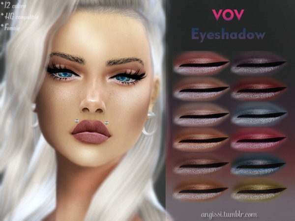 VOV Eyeshadow by ANGISSI at TSR image 261 Sims 4 Updates