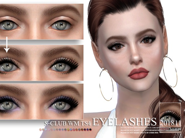 Eyelashes 201811 by S Club WM at TSR image 262 Sims 4 Updates