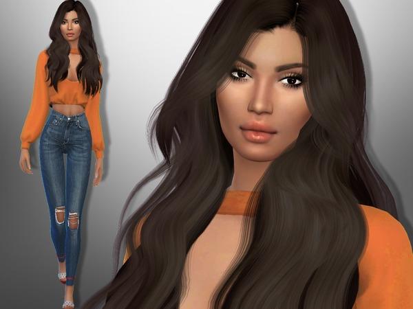 Sims 4 Iliana Moses by divaka45 at TSR