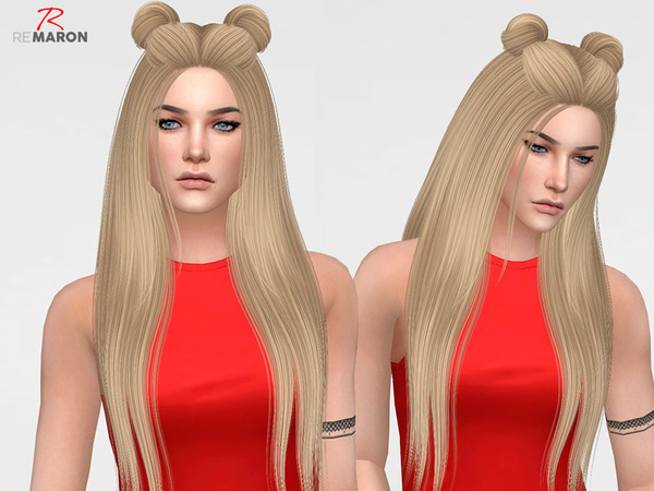 Sims 4 MOUSE DUH Hair Retexture by remaron at TSR