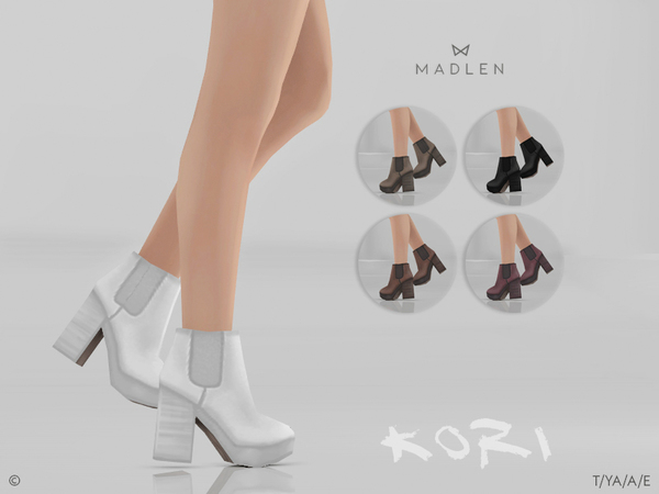 Madlen Kori Boots by MJ95 at TSR image 2821 Sims 4 Updates