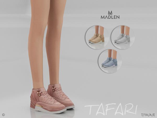 Sims 4 Madlen Tafari Shoes by MJ95 at TSR