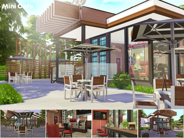 Mini Cafe by Pralinesims at TSR image 3010 Sims 4 Updates