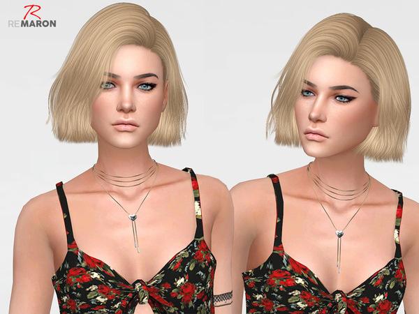 Sims 4 Confetti Hair Retexture by remaron at TSR