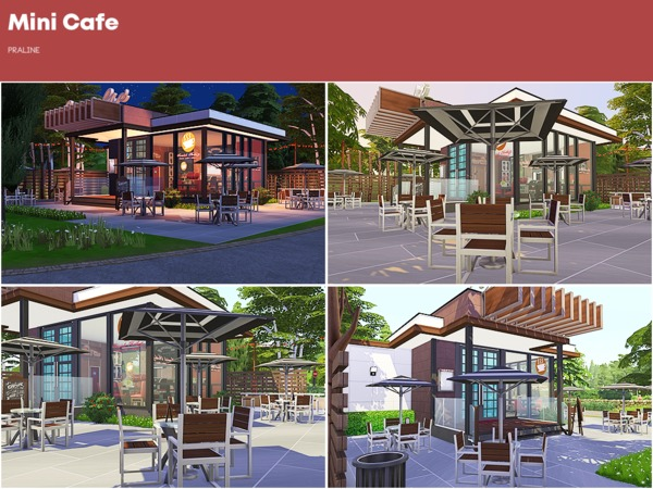 Mini Cafe by Pralinesims at TSR image 3114 Sims 4 Updates