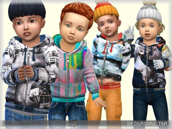 Sims 4 Parka Jacket by bukovka at TSR