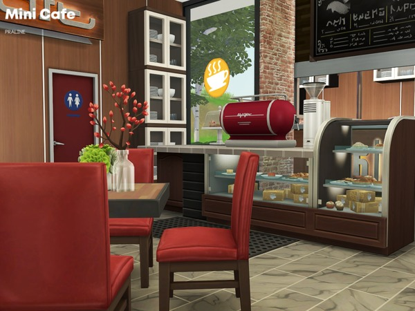 Mini Cafe by Pralinesims at TSR image 3211 Sims 4 Updates