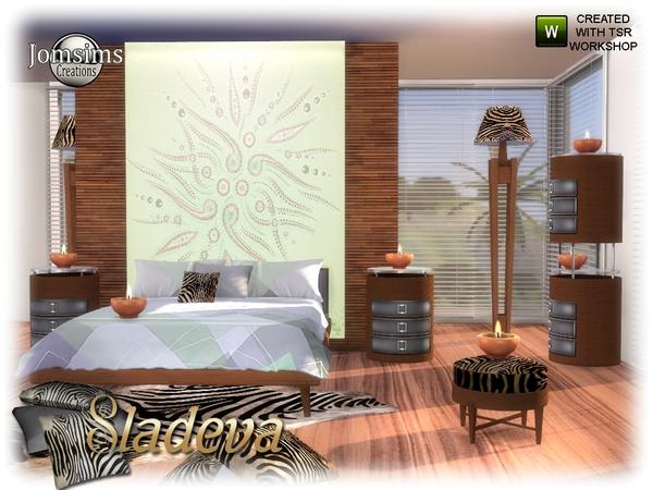 Sims 4 Sladeva bedroom by jomsims at TSR