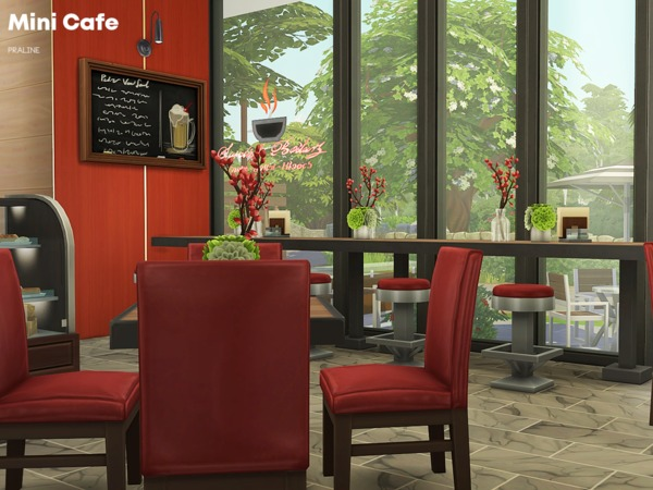 Mini Cafe by Pralinesims at TSR image 3310 Sims 4 Updates