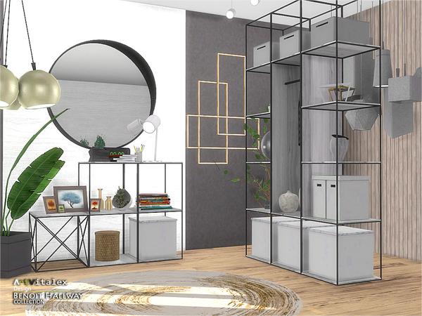 Benoit Hallway by ArtVitalex at TSR image 3311 Sims 4 Updates