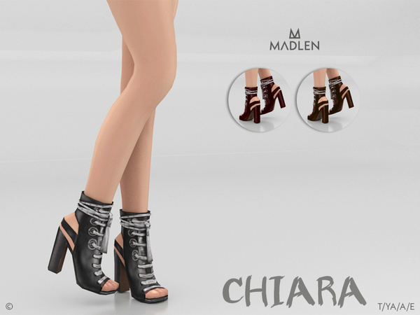 Sims 4 Madlen Chiara Boots by MJ95 at TSR