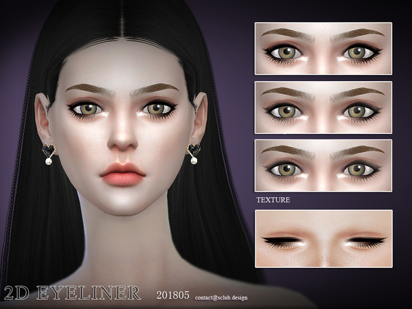 Eyelashes 201805 by S Club LL at TSR image 363 Sims 4 Updates