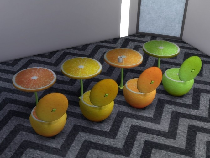 Sims 4 Juice Dining Series by darkdatatrc at Mod The Sims
