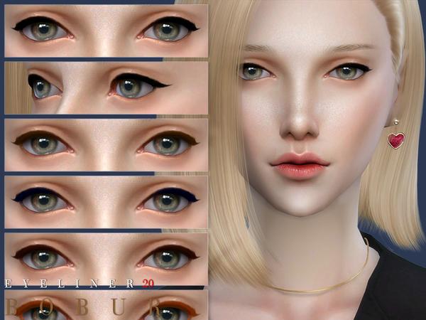 Eyeliner 20 by Bobur3 at TSR image 374 Sims 4 Updates