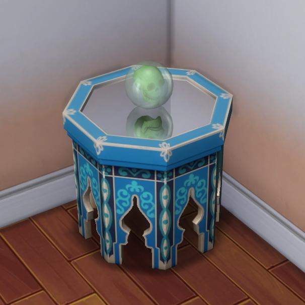 Sims 4 Crystal Skull Bowling Ball by darkdatatrc at Mod The Sims