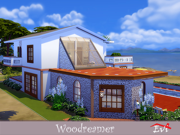 Woodreamer house by evi at TSR image 3817 Sims 4 Updates