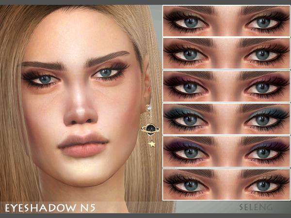 Sims 4 Eyeshadow N5 by Seleng at TSR