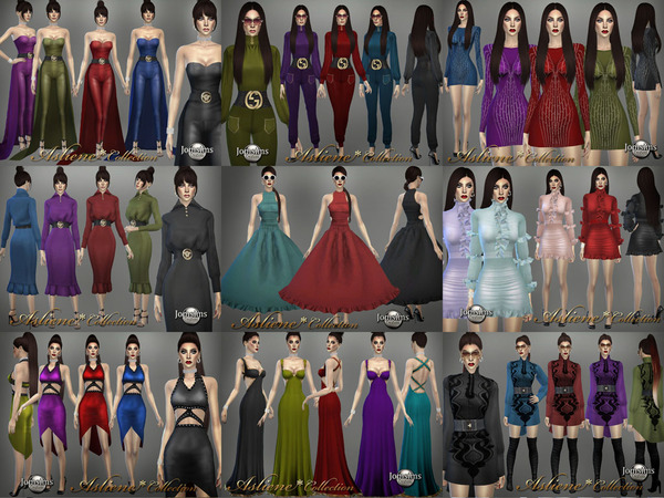 Asliene dress 6 by jomsims at TSR image 396 Sims 4 Updates