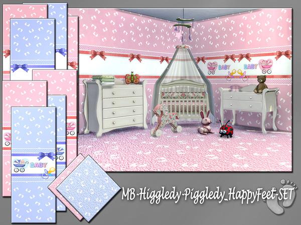 MB Higgledy Piggledy Happy Feet SET by matomibotaki at TSR image 398 Sims 4 Updates