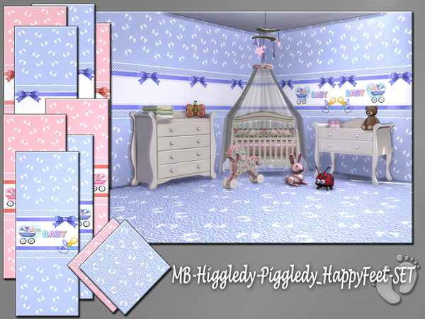 MB Higgledy Piggledy Happy Feet SET by matomibotaki at TSR image 408 Sims 4 Updates