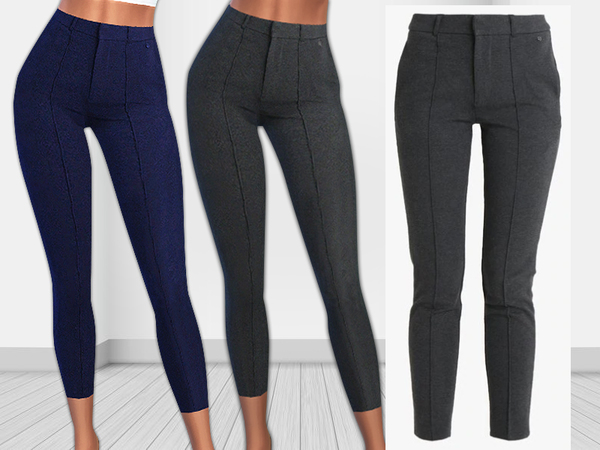 Sims 4 Helen Winter Trousers by Saliwa at TSR