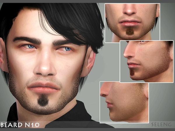 Beard N10 by Seleng at TSR image 4312 Sims 4 Updates