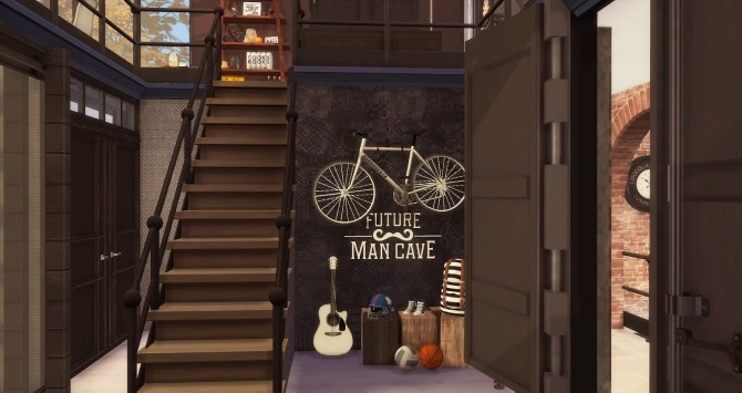 Sims 4 The Man Cave by RubyRed at Ruby's Home Design