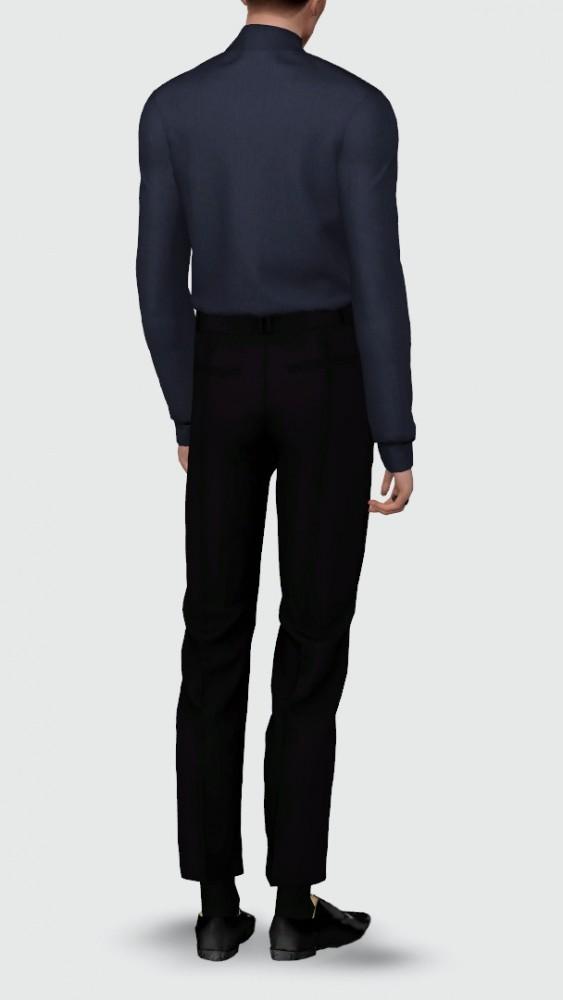 Basic sweater & slacks at Rona Sims image 4423 563x1000 Sims 4 Updates